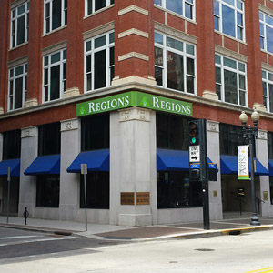 Regions Bank Gay St in Knoxville