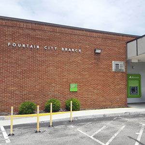 Regions Bank Fountain City Essary Rd in Knoxville