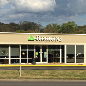 Regions Bank Peters Rd in Knoxville