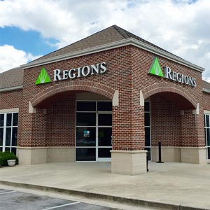 Regions Bank South Broad in Chattanooga