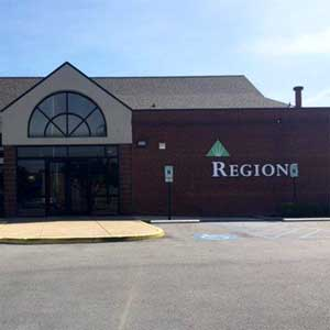 Regions Bank Perimeter Place Lee Hwy in Chattanooga