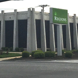 Regions Bank Jefferson Cookeville in Cookeville