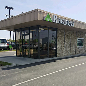 Regions Bank Interstate in Cookeville
