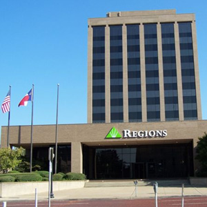 Regions Bank Tyler Main in Tyler