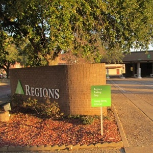 Regions Bank Tyler Main Remote Drive Thru in Tyler