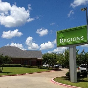 Regions Bank Northeast in Longview