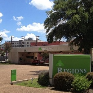 Regions Bank Longview Downtown Remote Drive Thru in Longview