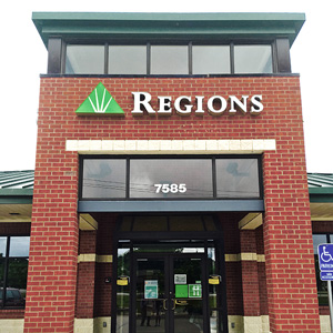 Regions Bank South Tyler in Tyler