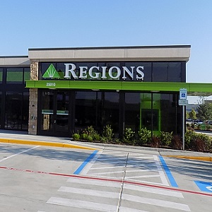 Regions Bank Westpark Tollway in Katy