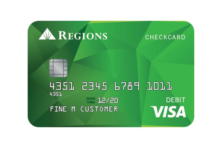 Tarjeta de crédito Regions