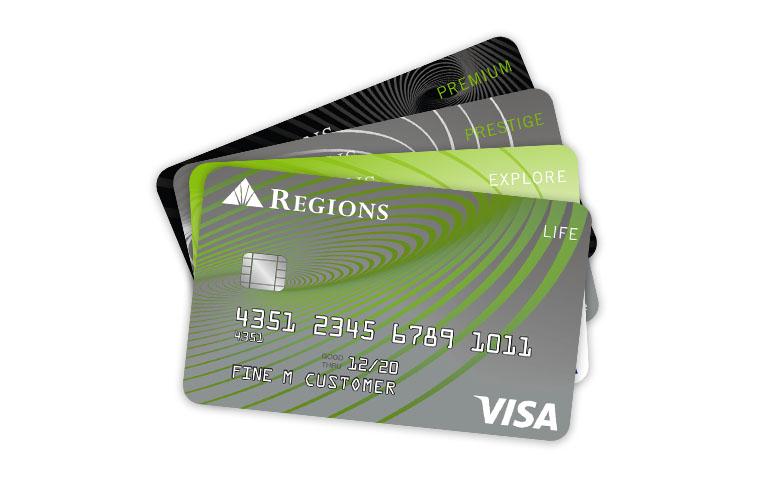 Tarjetas de crédito de Regions