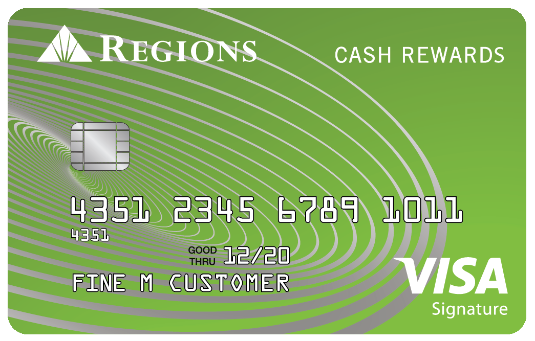regions cash rewards card
