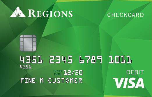 Regions Bank Card