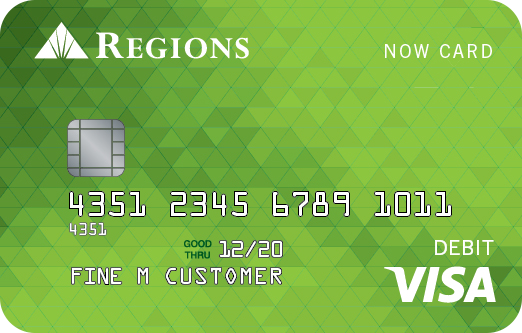 regions now card - Apply For Prepaid Card