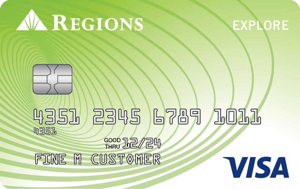 Regions Visa Explore Card