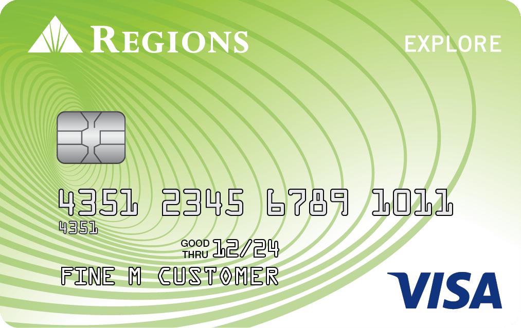 Tarjeta Visa Explore de Regions