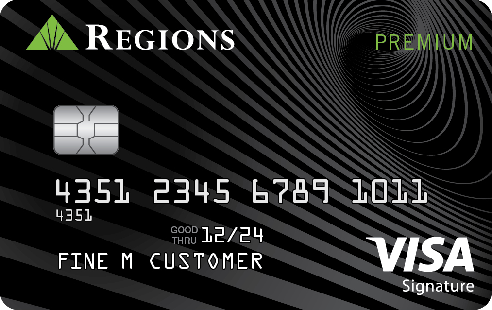 Regions Visa Premium Credit Card