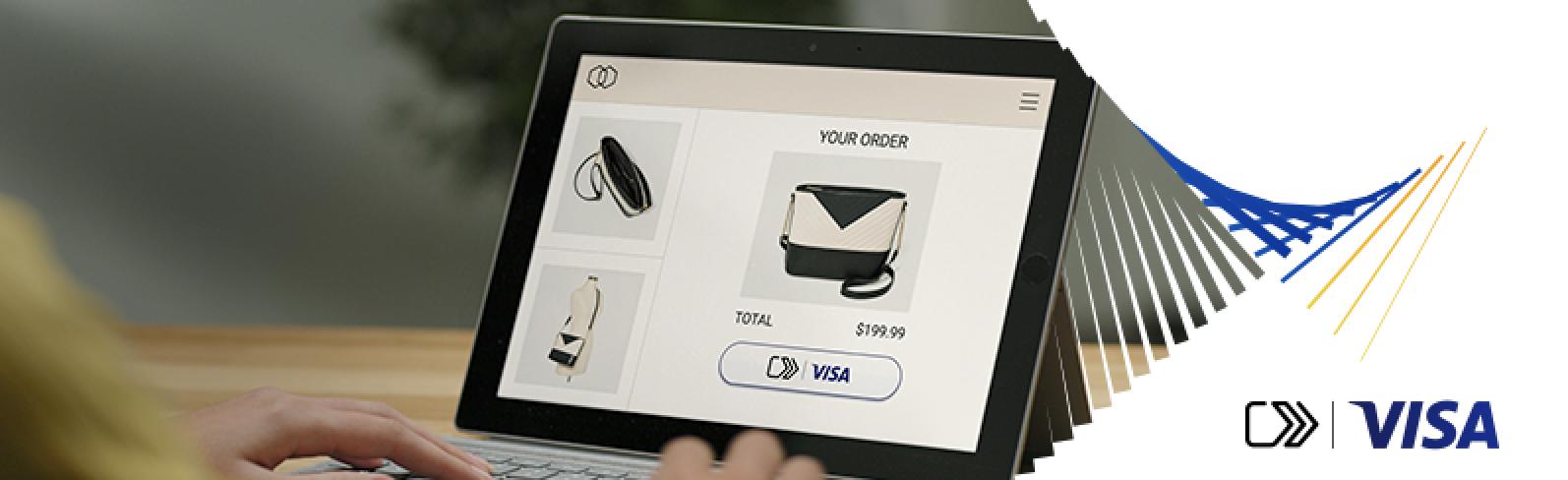 Haga clic para pagar con Visa