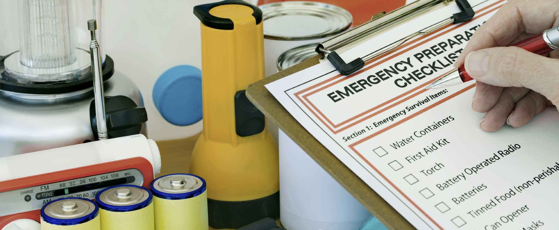 crear un plan de preparación para desastres para la familia