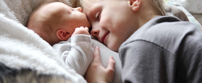 dar la bienvenida a un segundo bebé
