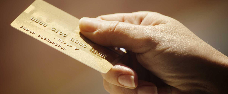 Usar una tarjeta de crédito comercial