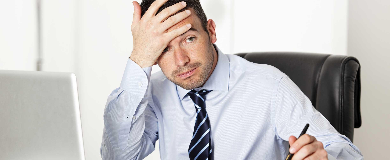 Cómo notar si el estrés está destruyendo su desempeño