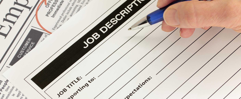 cómo escribir la descripción perfecta del trabajo