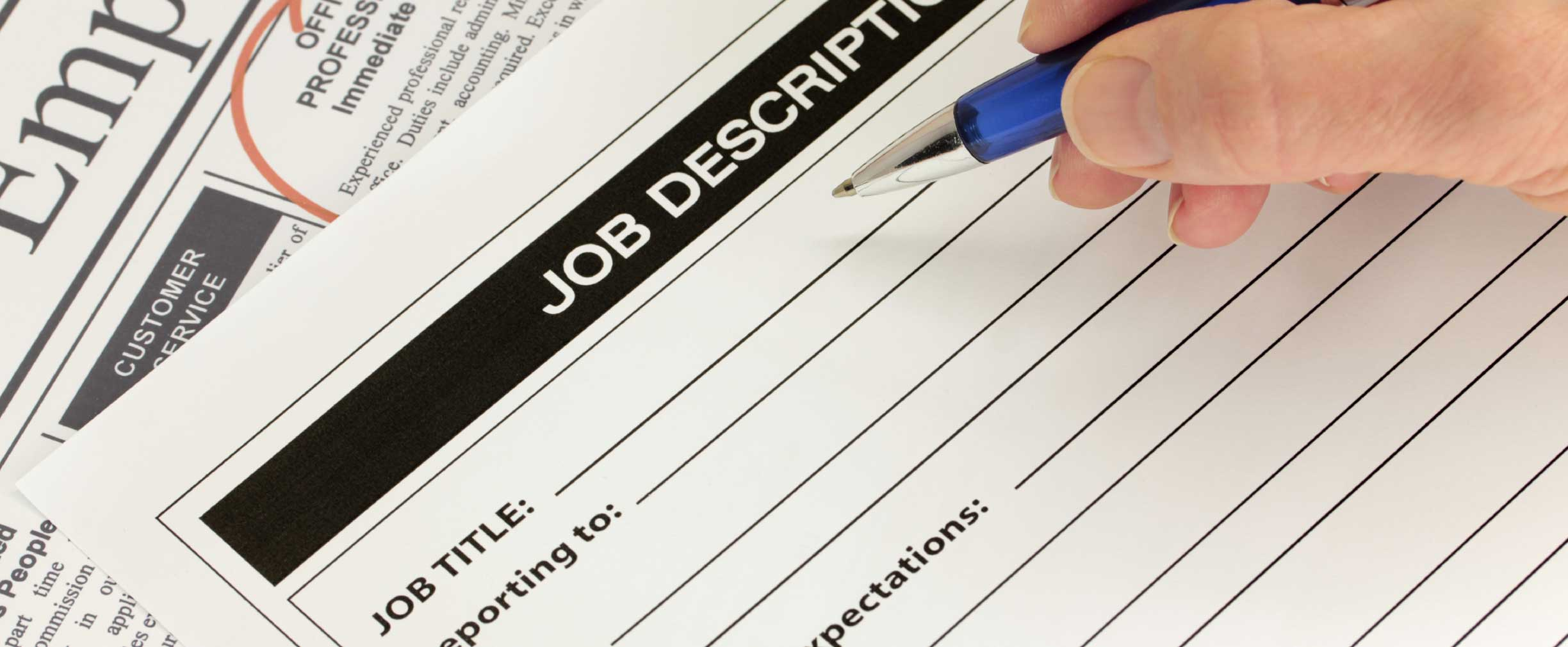 how to write the perfect job description