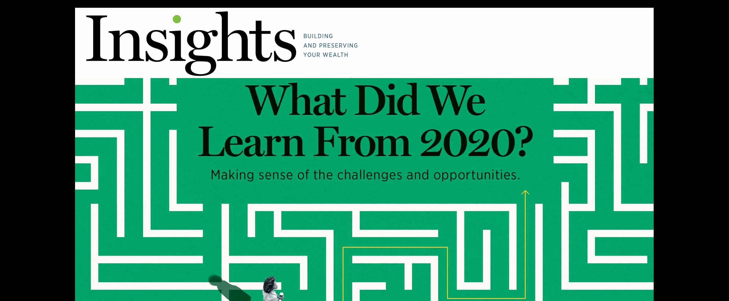 Insights Magazine Winter 2021 Cover