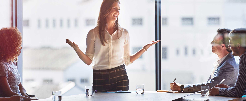 mujeres en el lugar de trabajo