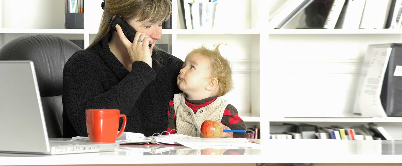 crear un equilibrio entre la profesión y el hogar