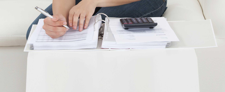 crear un calendario financiero