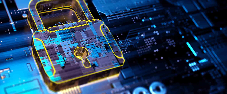 Bloqueo de seguridad digital
