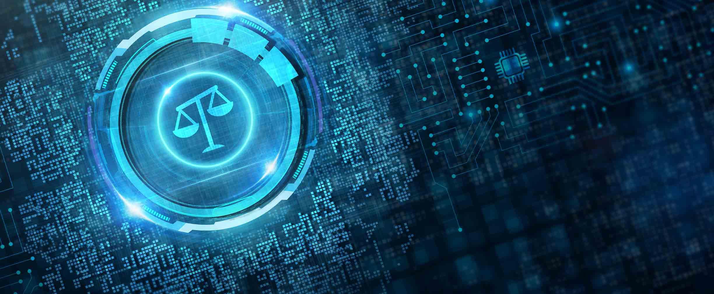 Concepto de asesoramiento legal en seguridad cibernética