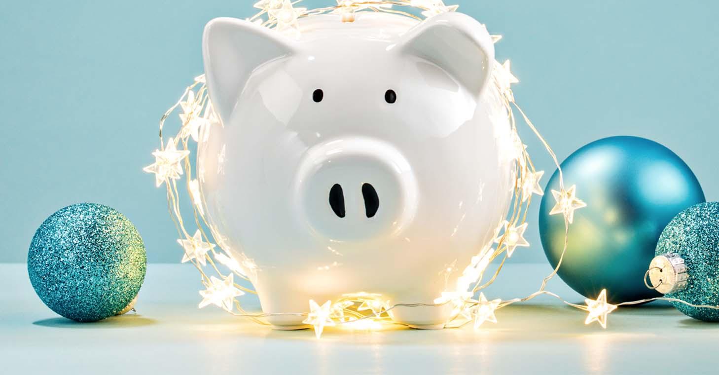 Planilla de presupuesto para sus gastos durante las fiestas