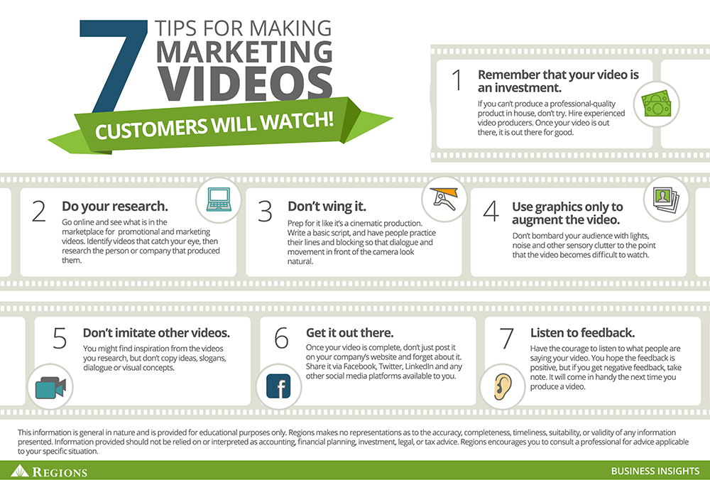 7 tips for making marketing Videos customers will watch