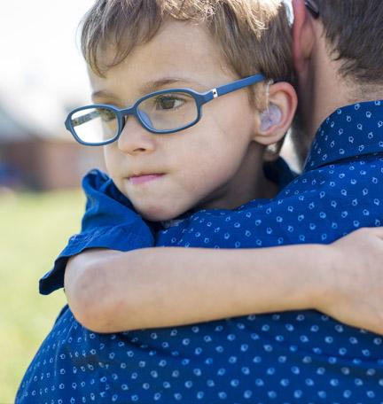 asistir a un hijo con necesidades especiales