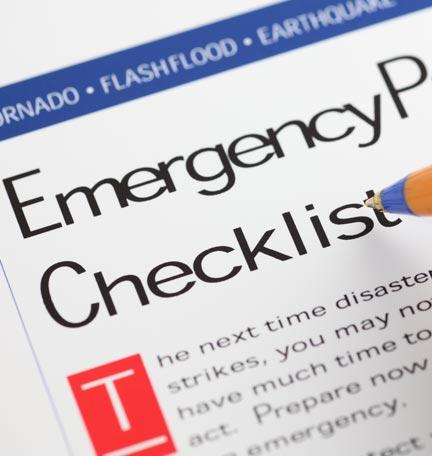preparación para emergencias
