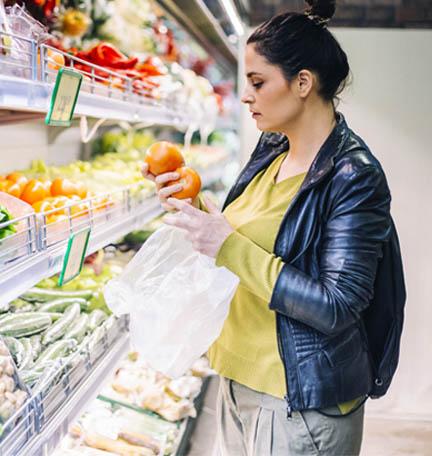 presupuesto para la compra de comestibles