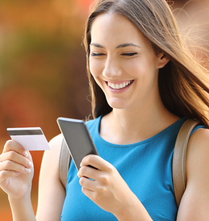 easy money management with mobile banking