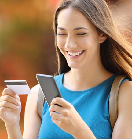 administración sencilla del dinero con los servicios bancarios móviles