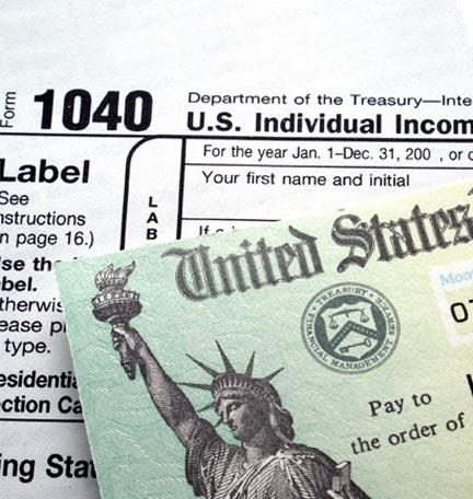 declaración de impuestos federales