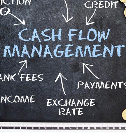 administración del flujo de efectivo