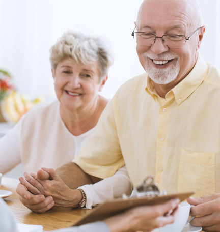 meet with financial advisor about planning for retirement