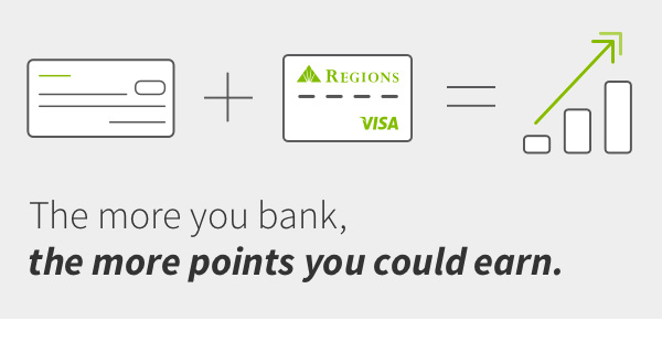 The more you bank, the more points you could earn.