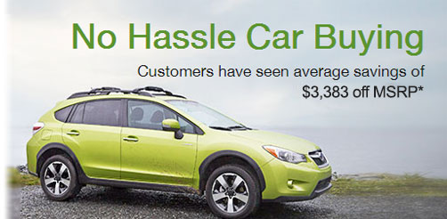 No Hassle Car Buying. Customers have seen average savings of $3,383 of MSRP.
