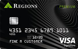 Regions Premium Visa Signature