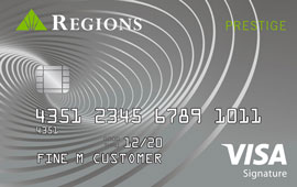 Regions Prestige Visa Signature