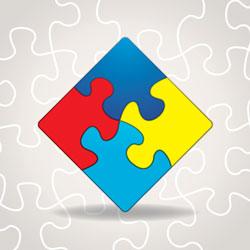 autism awareness puzzle image