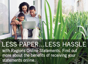 Find out more about online statements